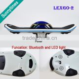Cheap 1 Wheel Electric Hoverboard,New Smart Mini Scooter with LED Light & Remote Control