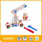 2016 New Toys For Child Blocks Car Toy Combined Toy For Intellectual Development
