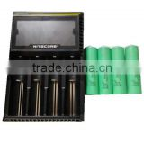 Nitecore intellicharge D4 charger 18650 rechargeable battery for electric car