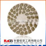 TECO wool shine floor polishing pads