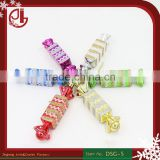 Romantic Design Christmas Decorations Candy Plastic Christmas Bauble Ornament Gift Present Christmas Tree Decoration