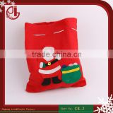 OEM Wholesales Promotion Recycle Foldable Drawstring Cotton Christmas Gift Candy Bag