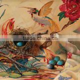 animal series abstract oil Painting Printed on canvas bird For bedroom HD pattern