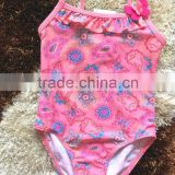 one piece colored children swimwear for promotional,kids swimsuit,baby swimsuit ,girls swimwear