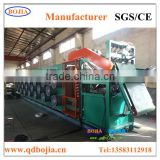 Qingdao hot sale Rubber sheet cooling machine with protection net