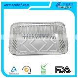 aluminium foil container with clear plastic domes for food serving and storing Round Aluminium foil container