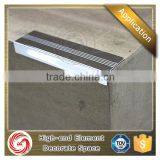 Factory price stainless steel carpet stair nosing