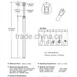 SP1-137334-F01 PCB test probe and gold plated spring loaded probe current probe pong head
