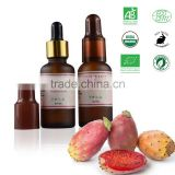 Organic Prickly Pear Seed Oil (Barbary Fig Oil/Cactus Oil) - Cold Pressed, Pure & Extra Virgin - Premium Quality