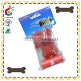 customized dog waste bag dispenser clips to any leash and plastic refills