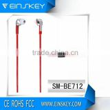 Latest design Metal Earphones with Microphone and Volume Remote for Android and for Phone