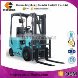 China Made CE Approved GOODSENSE AC Motor 1.5 TON 4 Wheel Electric Forklift Truck for Sale