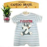 Lovely new born baby clothing baby cat romper