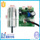 Customized violet 405nm 100mw laser diode module 100mw laser module