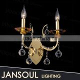 jansoul lighting factory custom made outdoor wall mounted decorative lighting with k9 crystal ball made in china