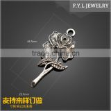 HD2210-1591 Mens Jewelry Necklace Pendant bouquet of roses alloy alloy pendant accessories