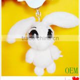 Wholesale hot selling little bunny plush keychain
