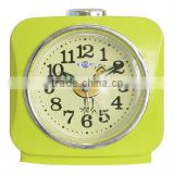 Plastic square shape table alarm clock