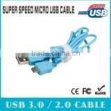 Micro usb smart cable for digital cameras, digital Blu-ray video cameras