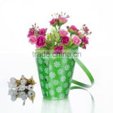 plastic sleeves for flowers waterproof Gift Flower Pot Plant Pot flower Bag With Handles flowerpot bags