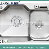 China supplier stainless steel kitchen insert laundry sink                                                                                                         Supplier's Choice