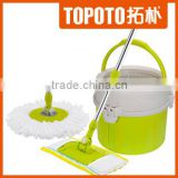 high quality single bucket spin mop with magic mop rod