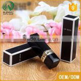 Luxury OEM recyclable handmade black lipstick packaging box paper box packaging                                                                                                         Supplier's Choice