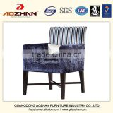 Hot Selling Solid Wood Arm Chairs cafe hotel Dining Chairs