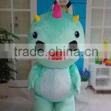 2015 HI wholesale lovely barney costume rental for adults for adult with EN71