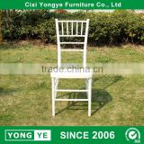 factory directly bamboo stackable PP resin tiffany chair                                                                                                         Supplier's Choice