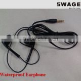 PH-w02 Professional waterproof Headset, waterproof earphone, waterproof in-ear headphone