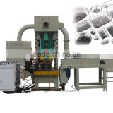 Automatic aluminum foil box making machine
