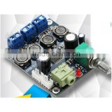 TPA3118 digital audio power amplifier module with switch potentiometer 24v 25w+25w 2.0 channel PBTL50W excellent sound