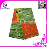 African Super Wax printed fabric of brocade Made in China with cheap price Super Deluxe Wax Fabric