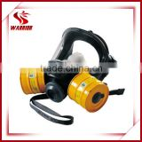 double filter gas mask/ full face respirator