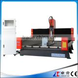 China high accuracy rotary axis yaskawa servo motor cnc stone carving machine 1300*2500mm