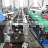 Cold steel cable tray roll forming machine