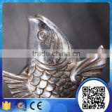 Fashion decorative polyresin animal resin craft statues fish figurine for table decor                                                                                                         Supplier's Choice