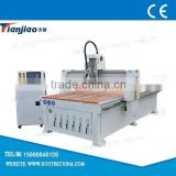 High speed cnc wood cutting router machine with tangential knife for cutting carton/PP/sandwich panel for sale