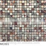 Best quality decoration panel aluminium mosaic tile MC004