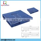 HDPE Blue Double Face Plastic Pallets for Goods Transport