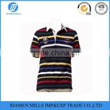 black bulk stripe men's wholesale cheap polo t shirts