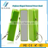Perfume Power Bank Charger 2600mAh Mobile Phone External Battery for iPhone for iPad for iPod Tablet