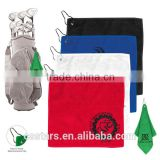 Microfiber Custom Golf Towel With Metal Grommet and Clip