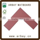 Arbay 32x40 photo frame paper mat boards corner samples for deco frameing