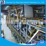 printing paper processing making line, Engineers available to service machinery overseas After-sales Service Provided