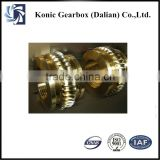 New series 45# steel OEM customized worm gear for gearbox speed reducer parts for sale in Dalian