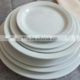 Pottery Hotel Banquet Used Tableware Ceramic Tpye and Fine Porcelain Dinner Plate FQDA00