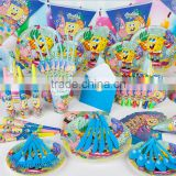 90pcs Birthday Party Supply Decoration Tableware Napkin+Gift Bags+Banner-birthday party child