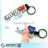 Promotional soft rubber key tag,best price